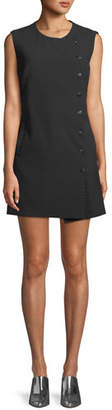 Veronica Beard Cutler Sleeveless Crewneck Mini Dress