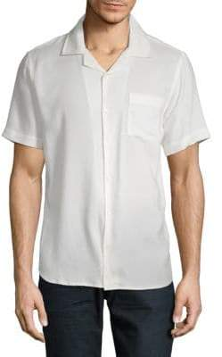 Shore Leave Shaped-Fit Classic Button-Down Shirt