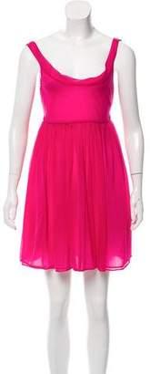 Tomas Maier Pleated Mini Dress w/ Tags