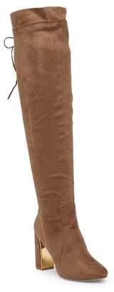 Wild Diva Lounge Vanessa Gusseted Knee High Boot