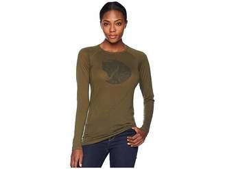 Fjallraven Abisko Trail T-Shirt Printed Long Sleeve
