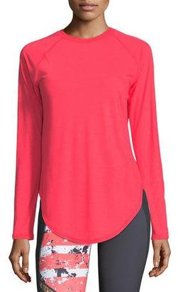 Under Armour Breathe Open-Back Long-Sleeve Performance Top $54.99 thestylecure.com
