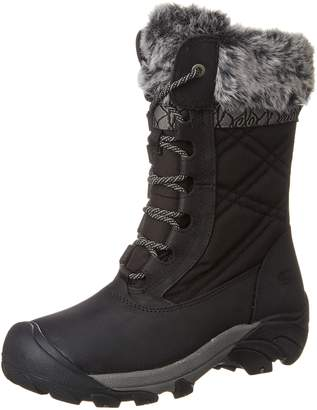 Keen Women's Hoodoo III WP Mid Calf Boots, Black/Gargoyle