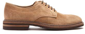 Brunello Cucinelli Round-toe suede derby shoes