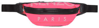 Kenzo Pink Sport Logo Bum Bag
