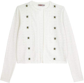 Cath Kidston Bumble Bee Embroidered Stitch Cardigan