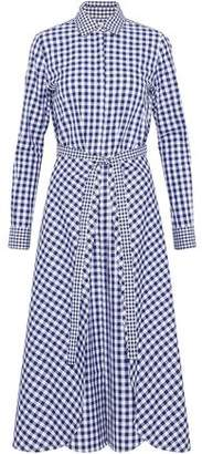 Rosetta Getty Belted Gingham Cotton Jacket