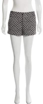 Alice + Olivia Mini Mid-Rise Tweed Shorts w/ Tags