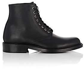 Saint Laurent Women's Army Leather Ankle Boots - Black