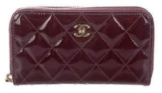 Chanel Small Zip Wallet