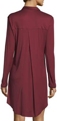 Hanro Grand Central Silk-Blend Sleepshirt
