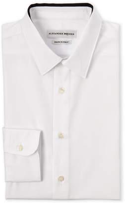 Alexander McQueen White Contrast Trim Dress Shirt