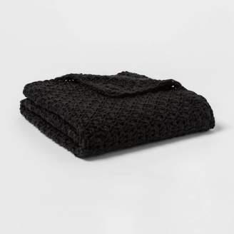 Threshold Chunky Knit Throw