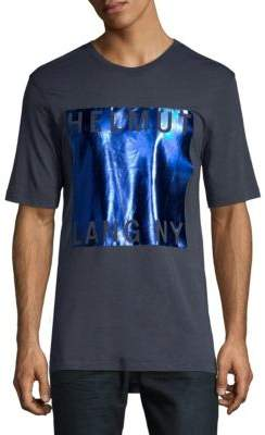 Helmut Lang Box-Fit Film Print Tee