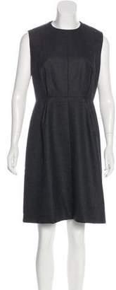 Calvin Klein Collection Sleeveless Wool Dress