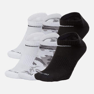 Nike Unisex Dry Cushioned 6-Pack No-Show Socks