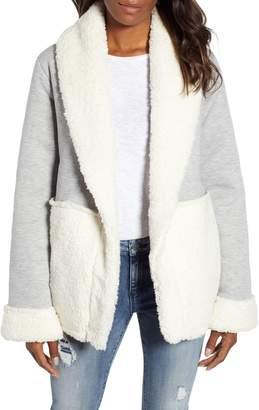 Caslon Faux Shearling Jacket