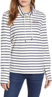 Vineyard Vines Relaxed Fit Stripe Pullover