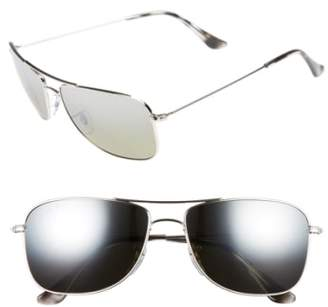 3ece70f20e at Nordstrom · Ray-Ban 59mm Chromance Aviator Sunglasses