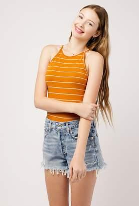 Azalea Stripe Knit Halter Top