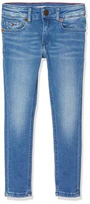 Tommy Hilfiger Girl's Nora Rr Skinny Lonbfst Jeans, (Long Blue Fresh Stretch 911), (Size: 4)