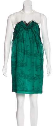 Stella McCartney Silk Lace-Accented Dress w/ Tags