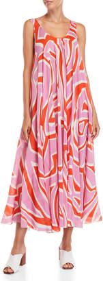Emilio Pucci Printed Cover-Up Maxi Dress