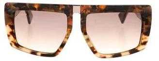 Miu Miu Gradient Square Sunglasses