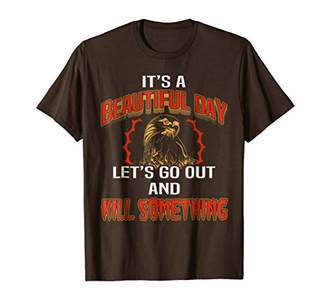 DAY Birger et Mikkelsen Funny Falconry T Shirt Its A Beautiful Lets Go Out