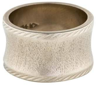 Ring 14K Etched Band