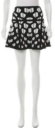 Diane von Furstenberg Abstract Mini Skirt