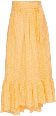 Lisa Marie Fernandez nicole floral tie waist skirt