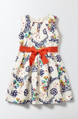 Toddler Girl's Mini Boden Vintage Dress $60 thestylecure.com