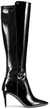 MICHAEL Michael Kors Dorothy Flex Patent Leather Knee-High Boots