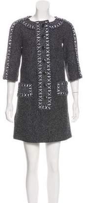Chanel 2016 Paris-Rome Tweed Dress