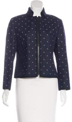 Akris Punto Zip-Up Denim Jacket