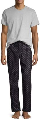 Calvin Klein 2-Piece Logo Pajama Set