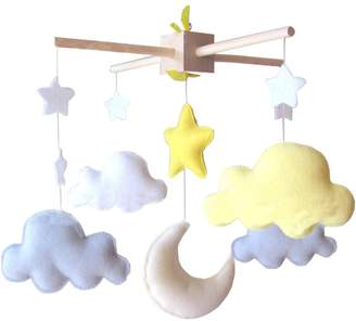 Black Temptation DIY Nursery-Mobiles For Crib Decorations Toy, Need Sewing