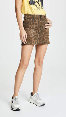R 13 High Rise Miniskirt