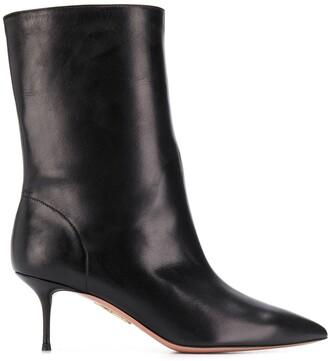 Aquazzura mid-heeled ankle boots