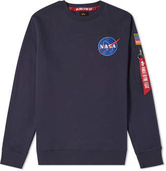 Alpha Industries Patch Crew Sweat