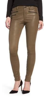 AG Jeans The Farrah High Waist Skinny Leather Pants