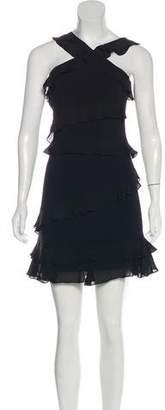 Cushnie et Ochs Ruffled Mini Dress
