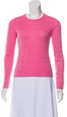 Ralph Lauren Lightweight Cable Knit Cashmere Sweater