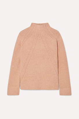 By Malene Birger Aleyah Oversized Wool-blend Turtleneck Sweater - Blush