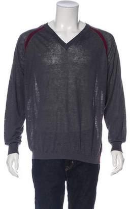 Paul Smith V-Neck Rib Knit Sweater