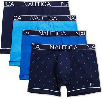 Nautica Men 4-Pk. Stretch Boxer Briefs