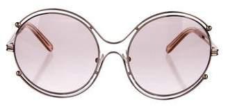 Chloé Round Oversize Sunglasses