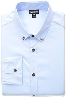 Just Cavalli Men's Classic Slim Fit Shirt