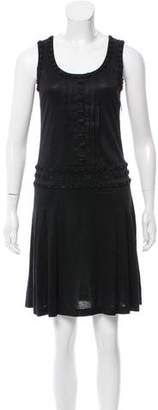Cacharel Embellished Sleeveless Dress